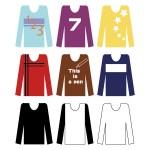 カットソーやTシャツ、プルオーバーの違い!ニットやセーターも違うの?